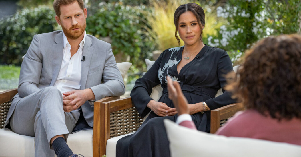 Prins Harry och Meghan Markle intervjuades av Oprah Winfrey