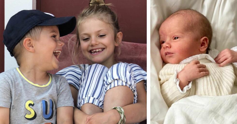 Prins Oscar Prinsessan Estelle Prins Julian