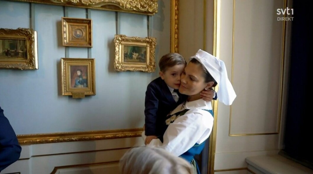 prins oscar kronprinsessan victoria nationaldagen 2020