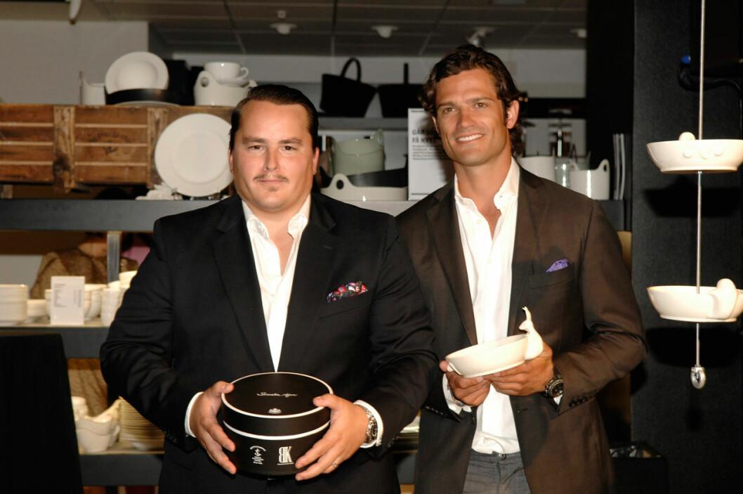 Designduon Oskar Kylberg och prins Carl Philip gör tidlösa klassiker för köket.