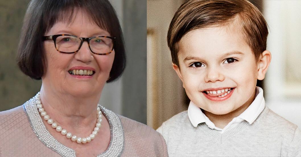 Ewa Westling prins Oscar