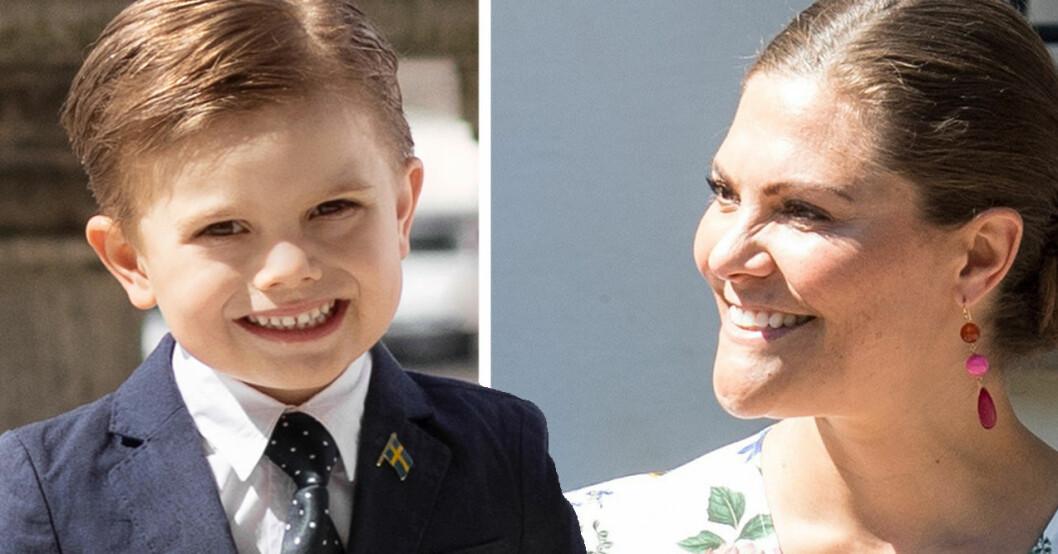 Prins Oscar och kronprinsessan Victoria - Victoriadagen 2020