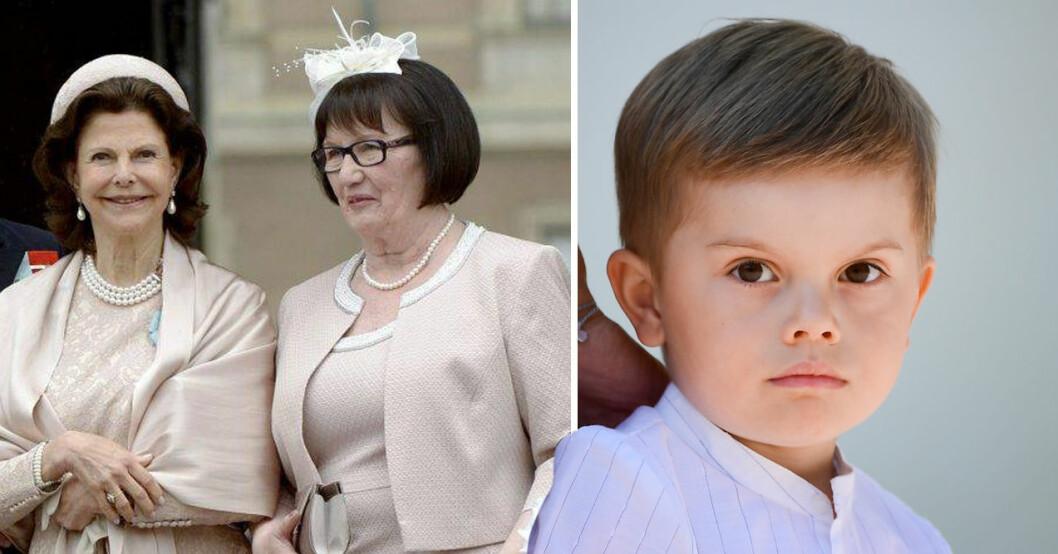 prins oscars relation med drottning silvia