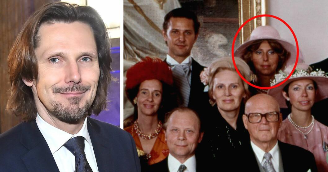 Patrick Sommerlath samt en bild på hans mamma Michele.