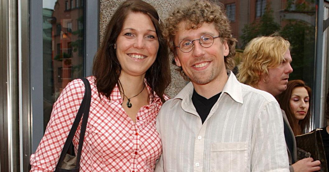 Pererik Åberg och hans Helene.