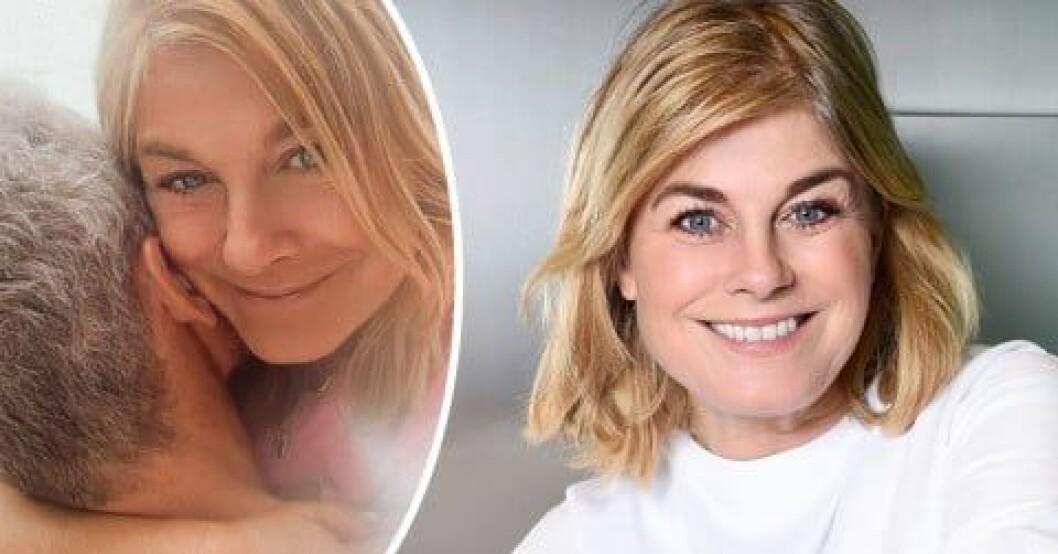 Pernilla Wahlgrens lyxhelg med kärleken Christian Bauer