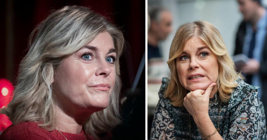 Pernilla Wahlgren är aktuell i Masked Singer 2021 – men hon har en sjukdom som tittarna inte får se