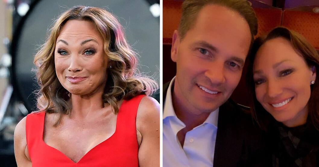 Charlotte Perrelli och maken Anders Jensen