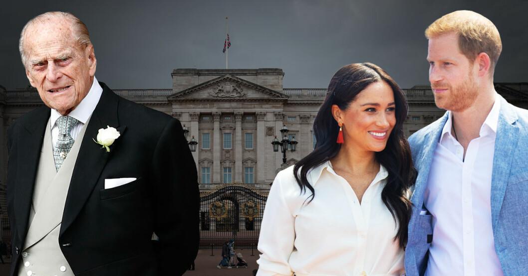 Prins Harry har tagit ett beslut inför prins Philips begravning – Meghan Markle närvarar inte
