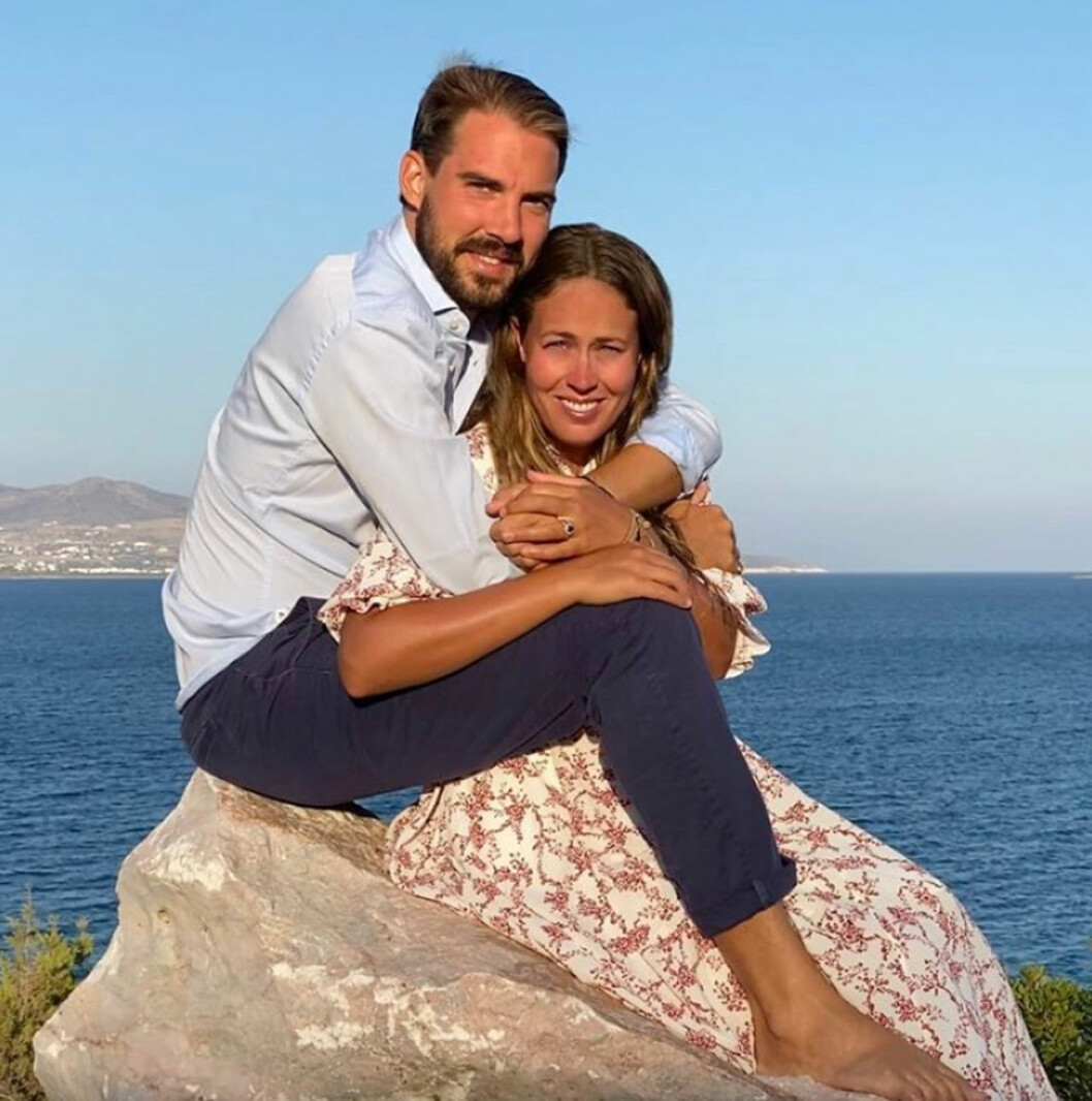 Prins Philippos och Nina Flohr