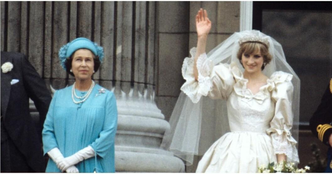 Drottningen hade synpunkter på Dianas mammaroll.
