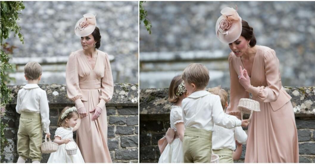 Kate skällde ut George.