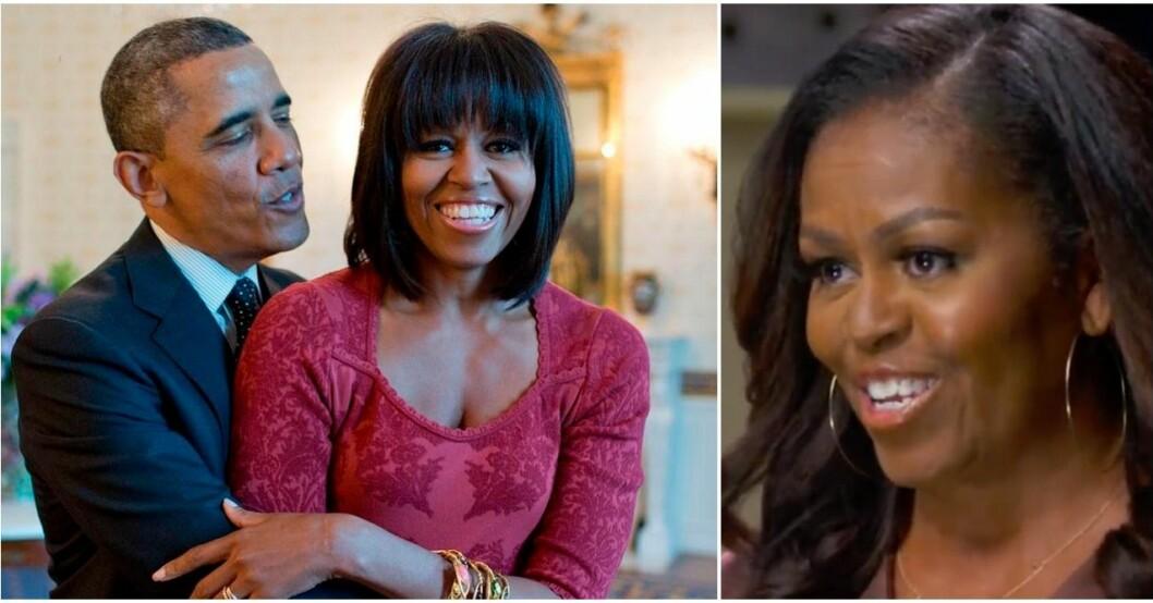 Michelle Obama avslöjar om kärleken.