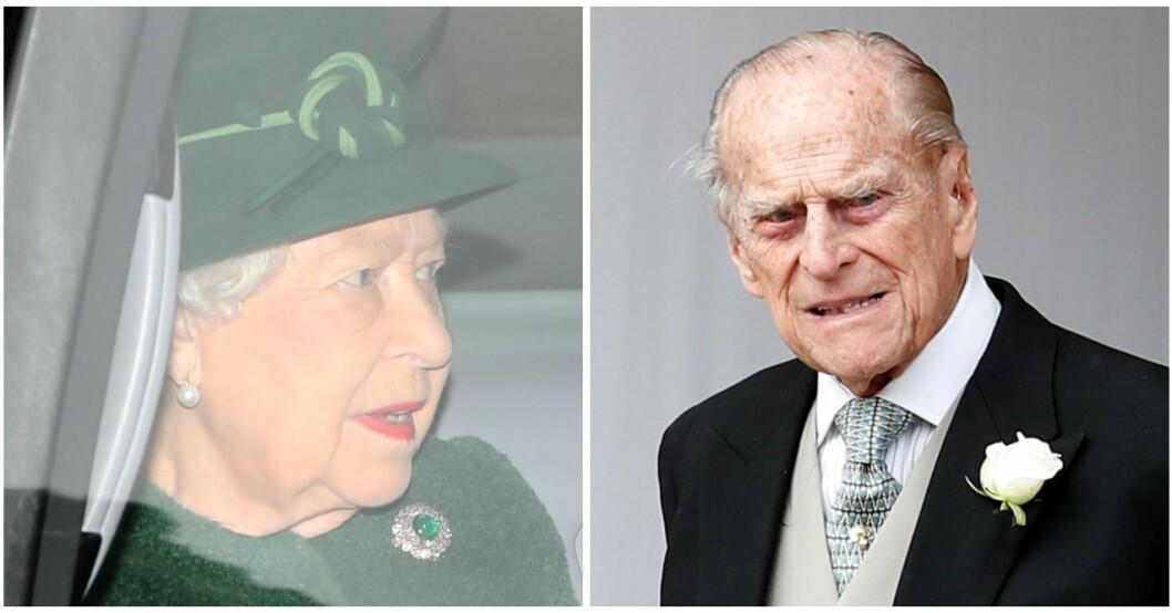 Prins Philip har förts till sjukhus och riskerar att missa julen.