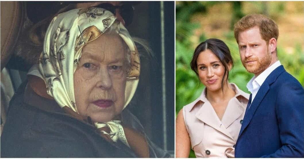 Elizabeth kallar Harry till krismöte.