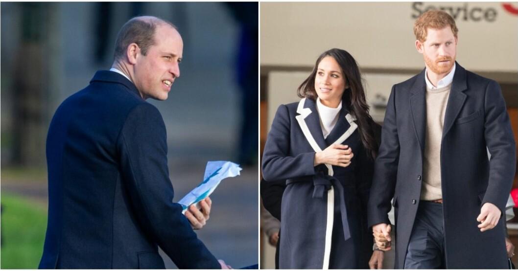 Harrys beslut har skapat en spricka i relationen med William.