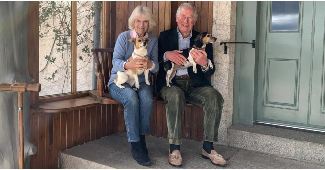 Prins Charles och Camilla firar 15 år som gifta.