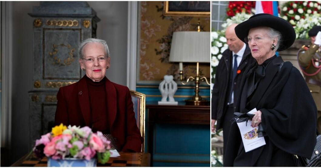 Drottning Margrethe var ensam i påsk.