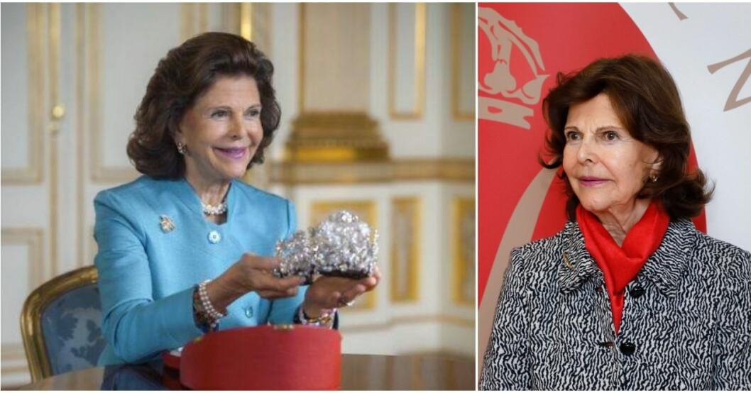 Drottning Silvia hyllas för nya programmet.