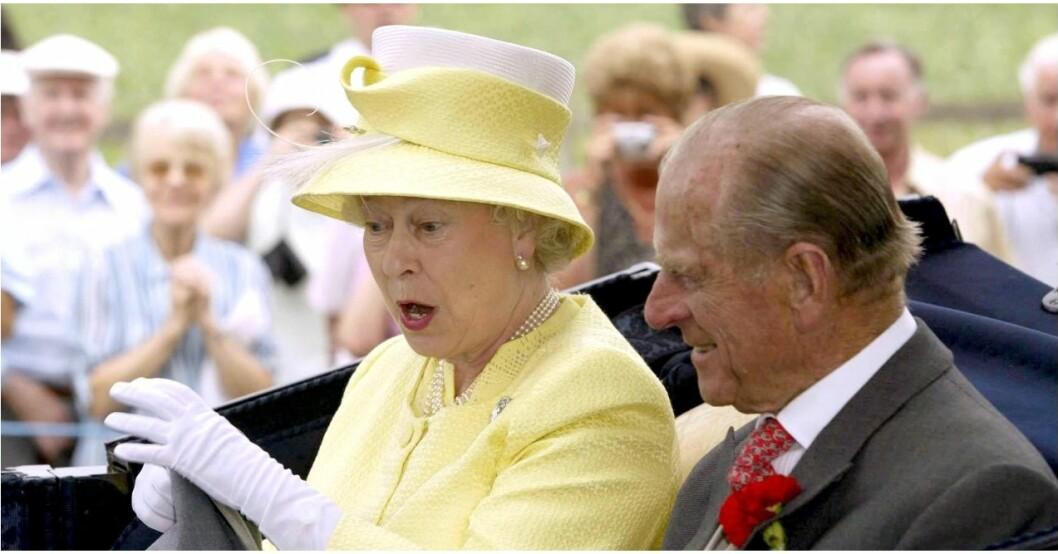Drottning Elizabeth föddes inför ett vittne.