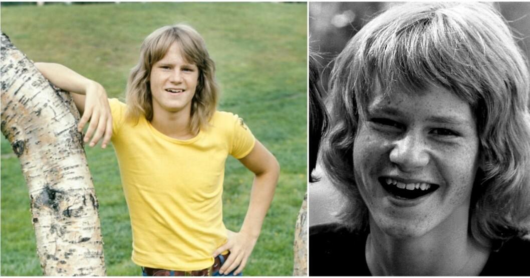 Ted Gärdestad drog sig undan från sin familj.
