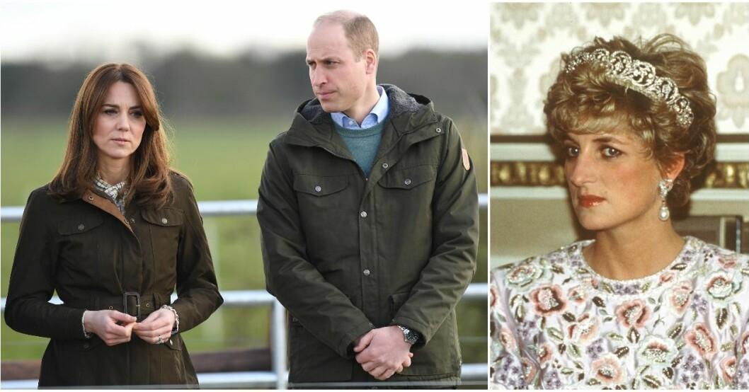 William minns sin mamma på sin födelsedag.