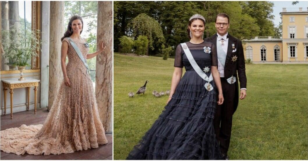 Kronprinsessparet firar tio år som gifta.