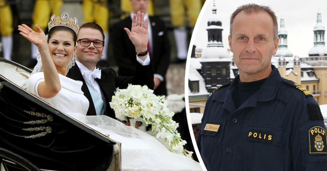 polisen tomas koppelman hellgren om de kungliga bröllopen
