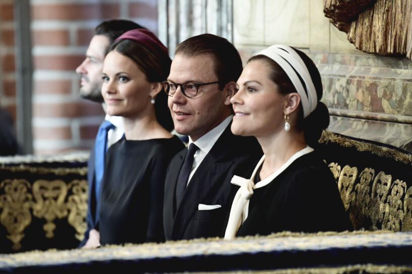 Prins Carl Philip Prinsessan Sofia Prins Daniel Kronprinsessan Victoria