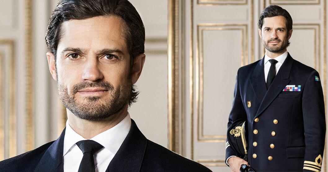 Nya officiella bilden på prins Carl Philip 2020.