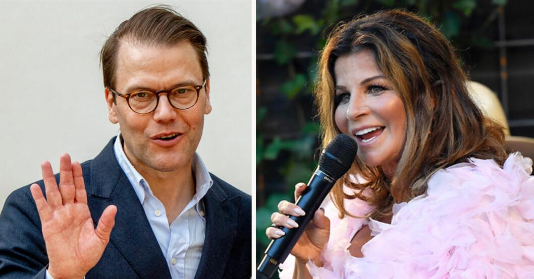 Prins Daniel och Carola Häggkvist