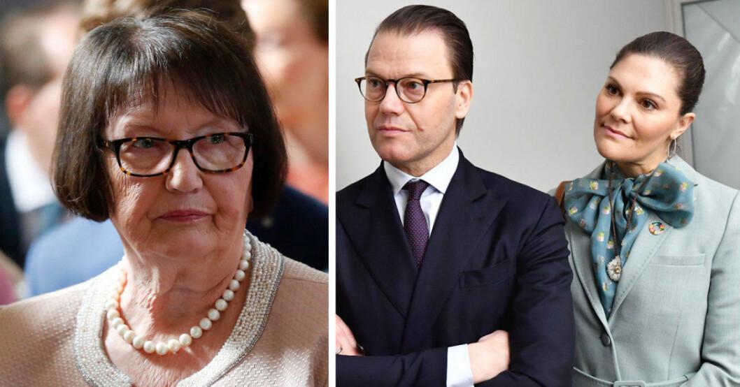 prins daniel får hemskt besked från mamma Ewa Westling i Ockelbo