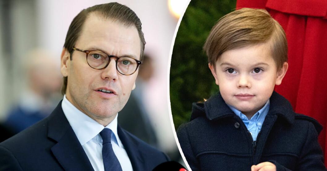 Prins Daniel och prins Oscar