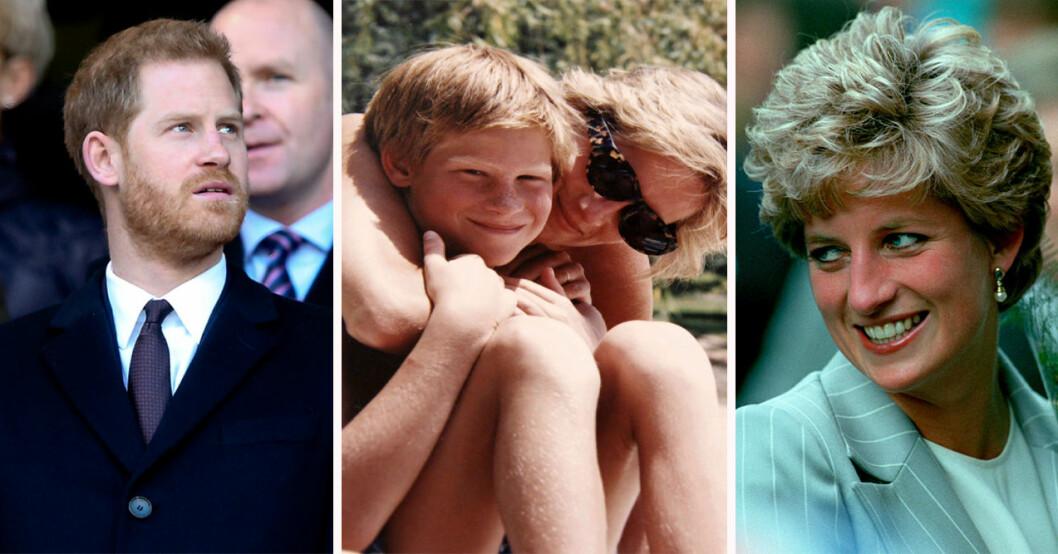 Prins Harry och prinsessan Diana