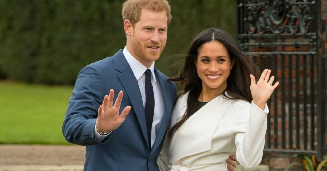Prins Harry och Meghan MarkleS