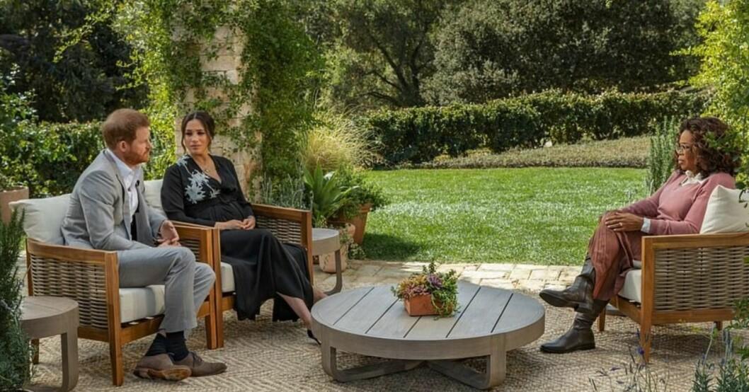 Prins Harry, Meghan Markle och Oprah Winfrey
