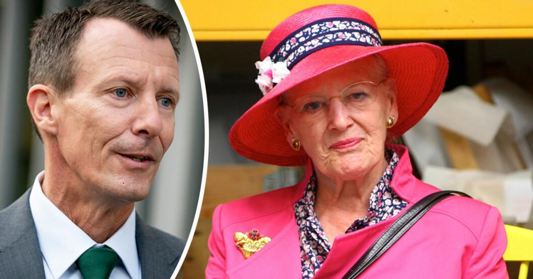 Prins Joachim och drottning Margrethe