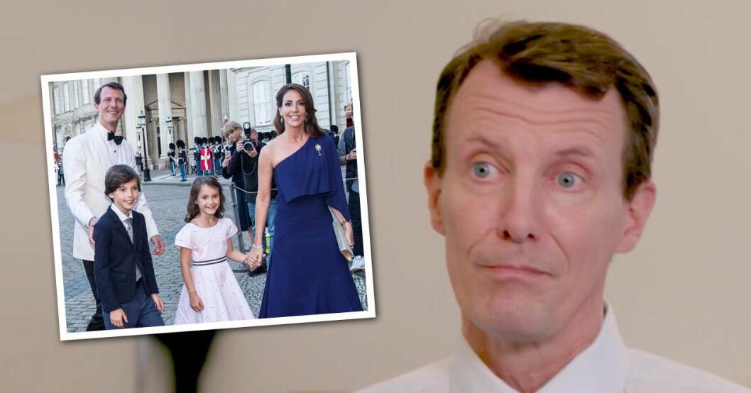 Prins Joachim om stroken i DR Prinsessan Marie Prinsessan Athena Prins Henrik junior
