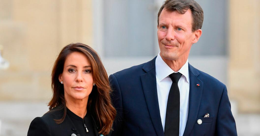 Prins Joachim och prinsessan Marie