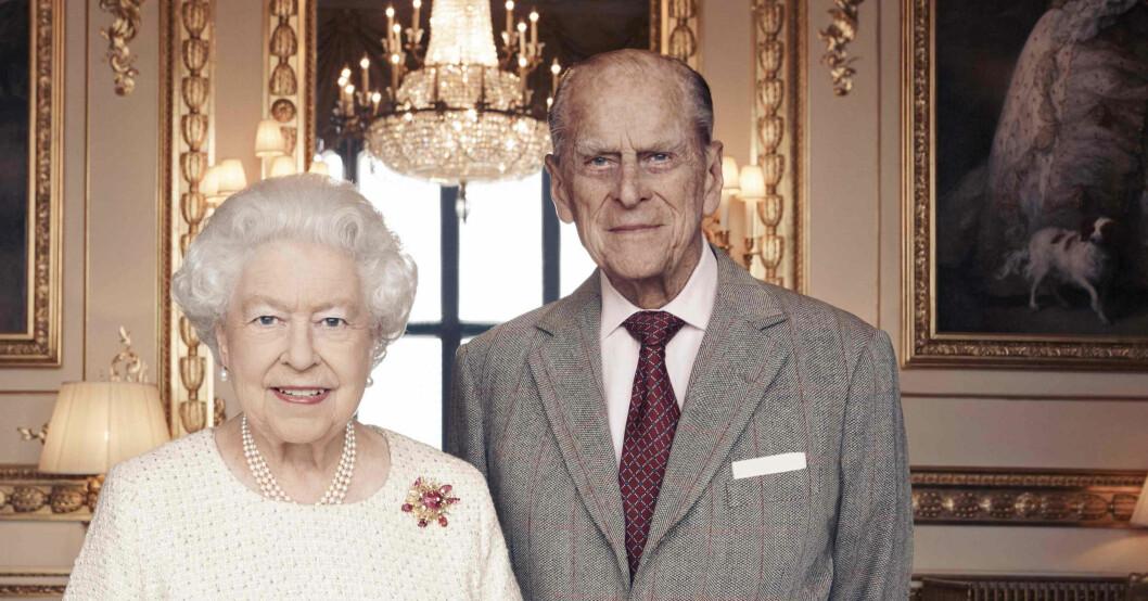 Prins Philip Drottning Elizabeth