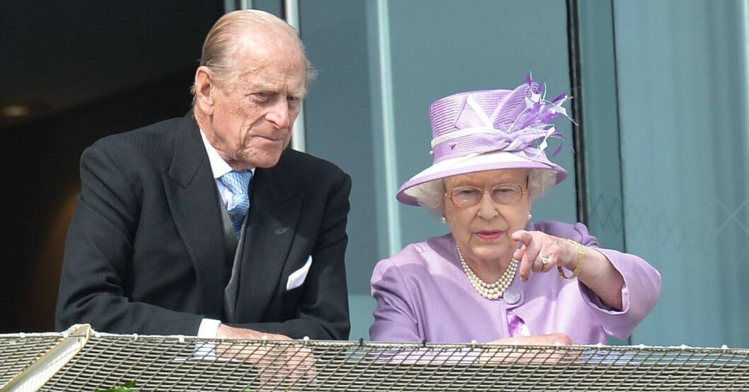 Prins Philip och drottning Elizabeth