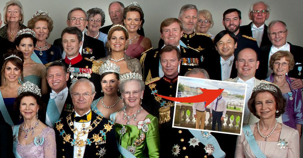 Europas kungligheter