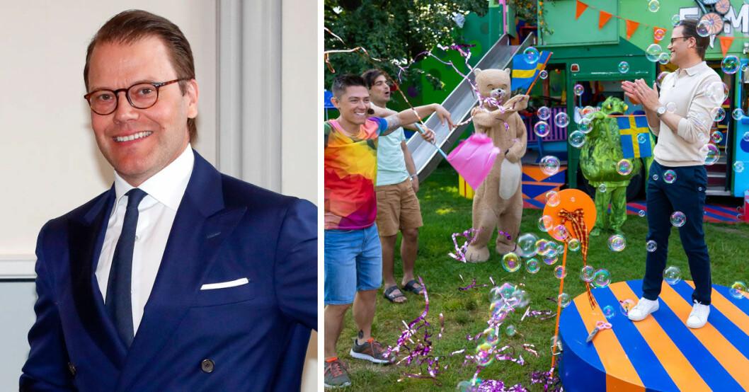 Prins Daniel är med i SVT:s sommarlov med sommarskuggan