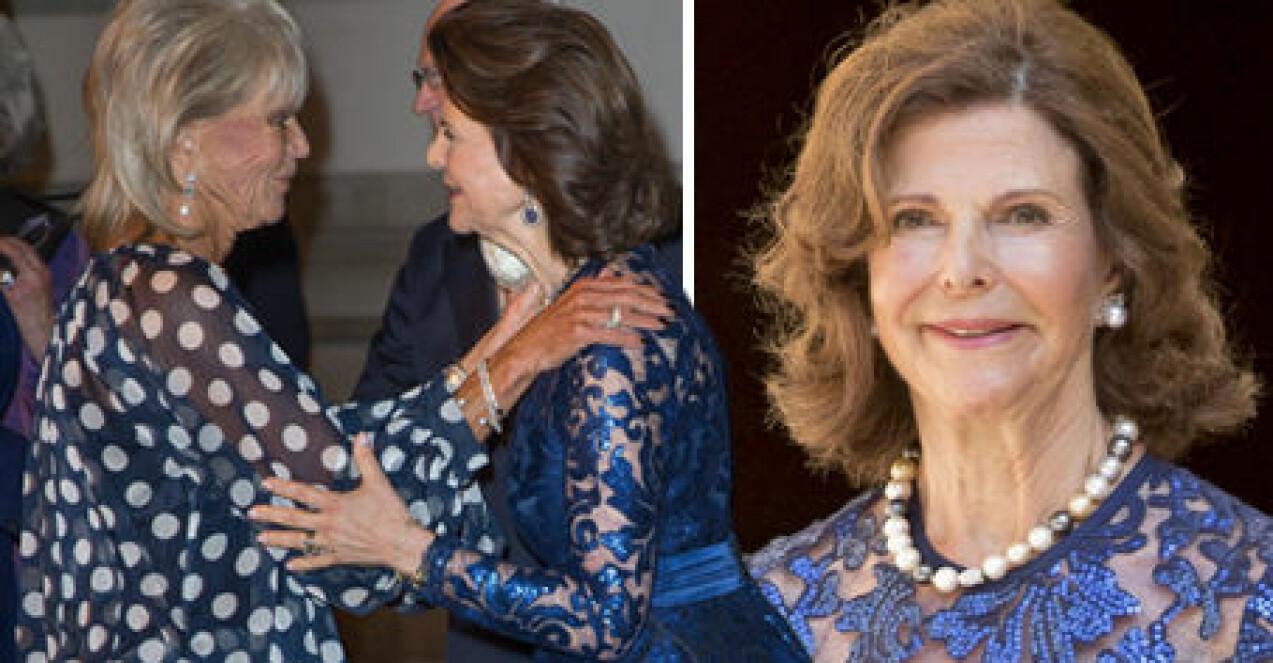 Prinsessan Birgitta Drottning Silvia