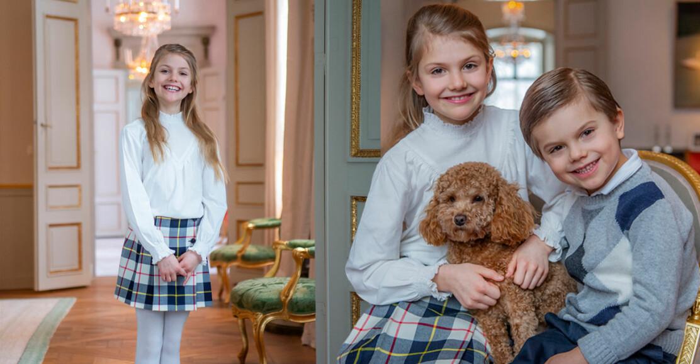 Prinsessan Estelle födelsedag 9 år