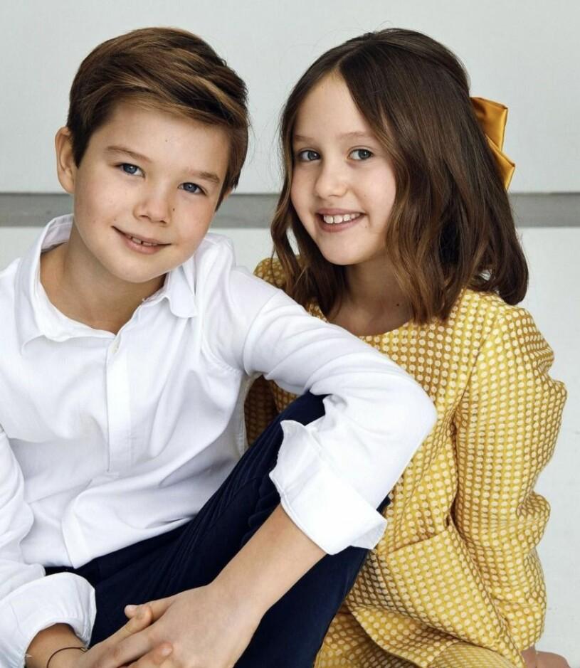Prinsessan Josephine Prins Vincent 10 år