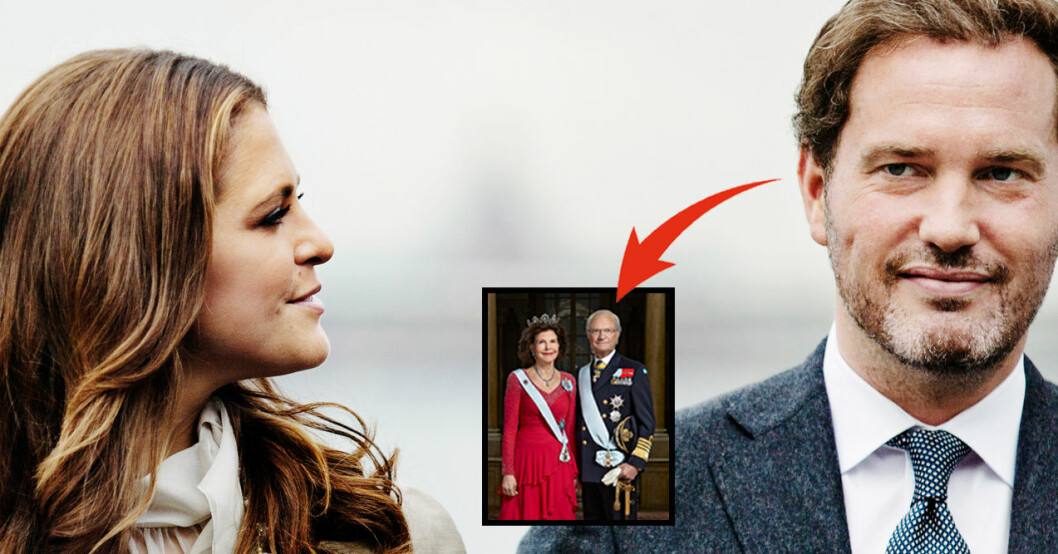 Prinsessan Madeleine Chris O'Neill