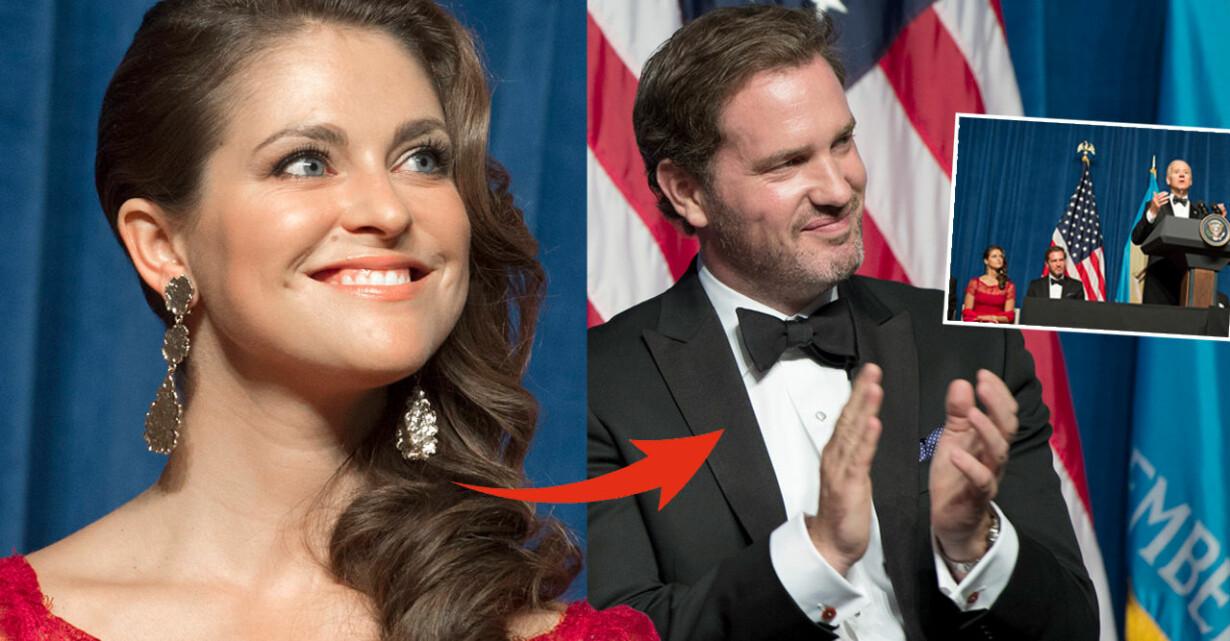 Prinsessan Madeleine Chris O'Neill Joe Biden