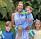 Prinsessan Madeleine med sina barn prins Nicolas, prinsessan Leonore och prinsessan Adrienne