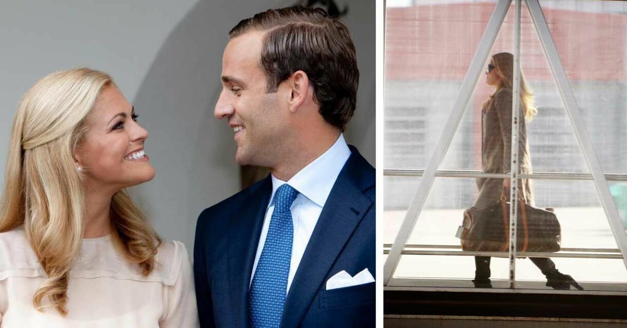 Prinsessan Madeleine och Jonas Bergström